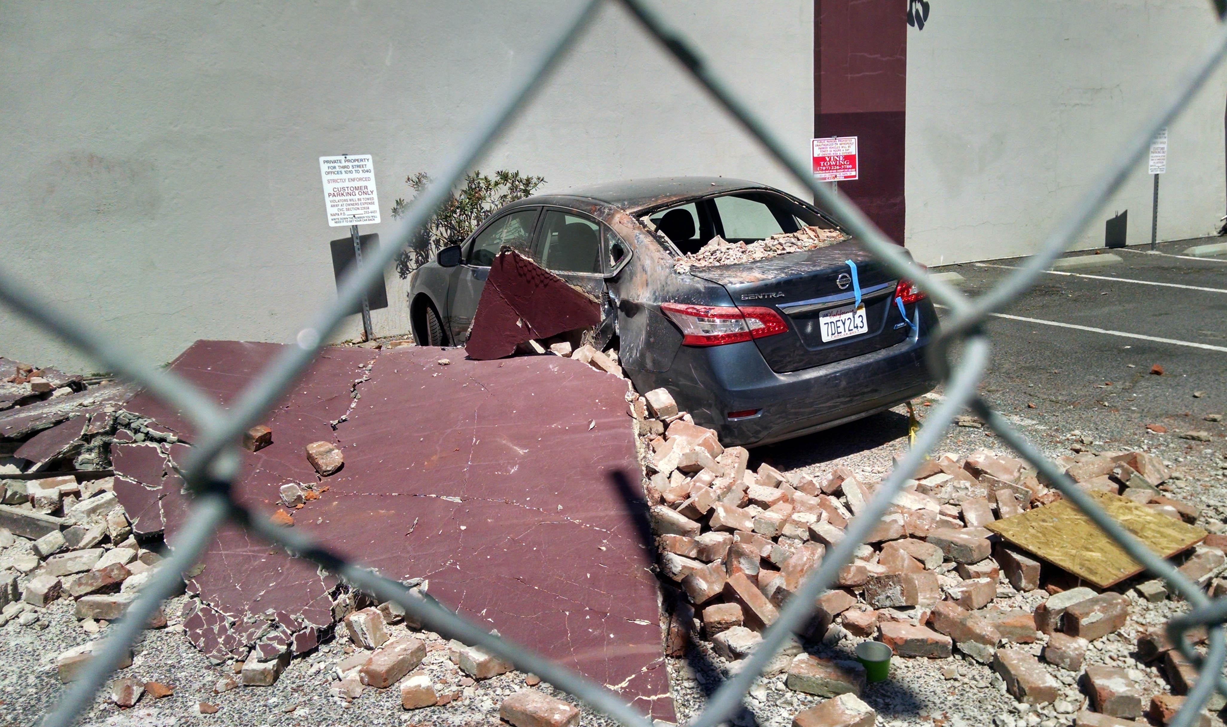 Napa Valley Earthquake photo